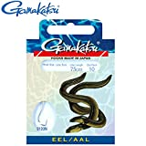 Gamakatsu Hook 3120 Eel 75cm - 10 gebundene Angelhaken zum Aalangeln, Einzelhaken für Aale,...