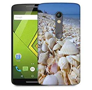 Snoogg Perfect Beach Designer Protective Phone Back Case Cover For Motorola Moto X Play