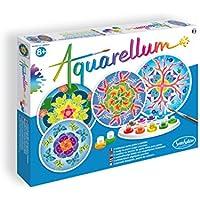Sentosphère 3900679 - Aquarellum - Juego de acuarelas con 4 patrones [importado de Alemania]
