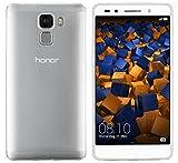 mumbi UltraSlim Hülle für Huawei Honor 7 / Honor 7 Premium Schutzhülle transparent (Ultra Slim - 0.55 mm)