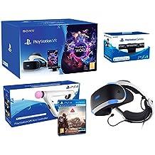 "PlayStation VR2 (CUH-ZVR2) ""Farpoint Pack"" + AimController + VR Worlds + Cámara VR"