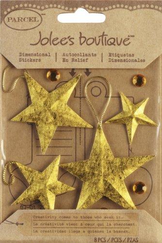 Stella di adesivi-novecentista di Jolee Boutique Natale