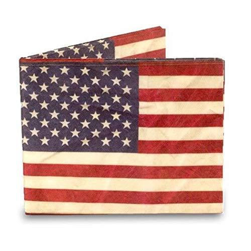 Portafoglio in tyvek 'bandiera USA'