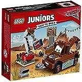 LEGO Juniors - Desguace de Mate, Juguete de Construcción Basado en la Película de Pixar