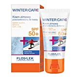 Floslek WINTER CARE Sonnen-Creme Gesichts mit LSF 50+ | 30 ml | Schutz gegen Sonne und Frost | Gesicht, Dekollete und Handpflege im Winter | Frauen und Männer