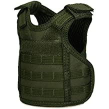 SEGRJ Outdoor Camo Tactical Military Mini Vest Beer Beverage Water Bottle Cup Holder