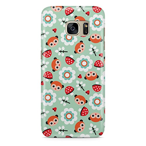 Queen Of Cases Coque pour Apple iPhone 6 Plus/6S Plus - Pastel Woodland - Premium Multicolore en plastique