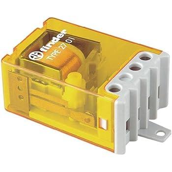 finder s rie 26 rele encastr interrupteur unipolaire 1 contact ouvert 12 vac. Black Bedroom Furniture Sets. Home Design Ideas