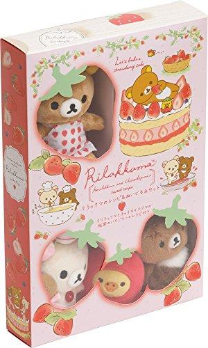 Rilakkuma Cake Recipe and Plush Toy Set