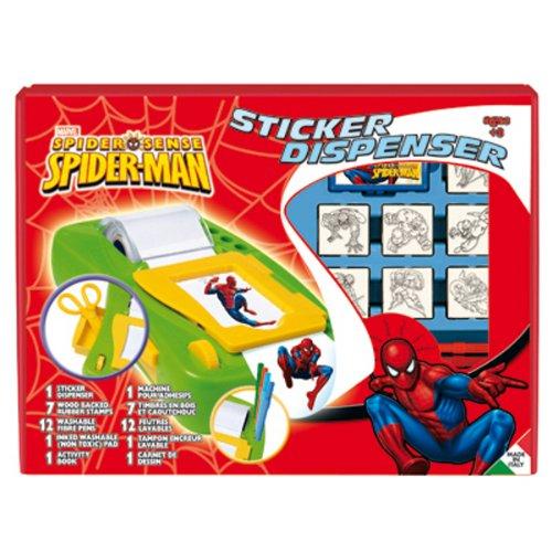 Multiprint - 8817 - Jeu Éducatif et Scientifique - Stick Mach + 7 Tpons - Spider