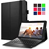 "Lenovo MIIX 310 Case, Pasonomi Premium PU Leather Folio Case Stand Cover for Lenovo Miix 310 10.1"" tablet (Black)"