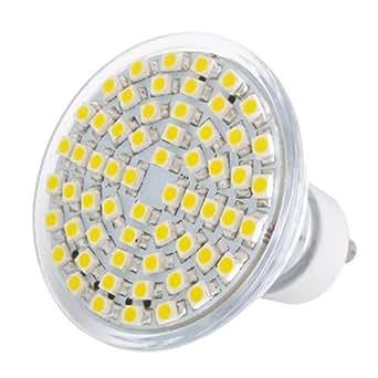 gu10 60 smd led strahler spot lampe birne warmwei 230v beleuchtung. Black Bedroom Furniture Sets. Home Design Ideas
