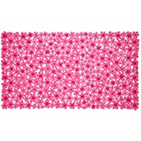 SlipX Solutions Field of Flowers Bath Mat - Pink by Slip-X Solutions