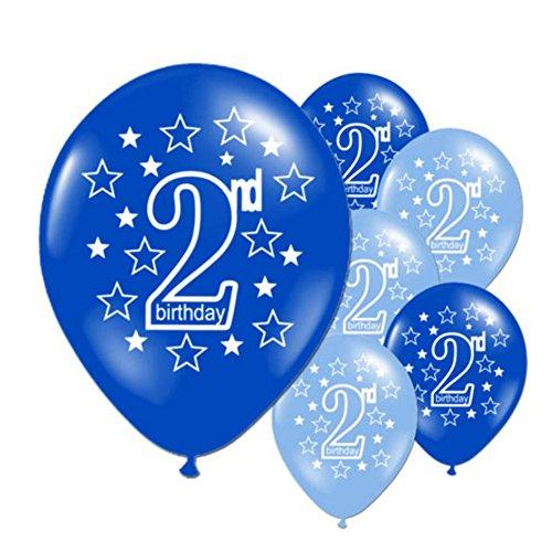 10 Stucke Luftballons Latex Ballons Baby 2 Jahre Alt Alles Gute Zum Geburtstag Bedruckte