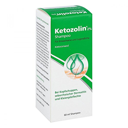 Ketozolin 2% Shampoo 60 ml