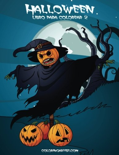 Halloween libro para colorear 2 (Fantasmas Colorear Halloween)
