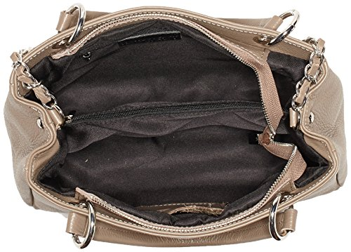 Bags4Less - Dublin, Borse a spalla Donna Marrone (Taupe)