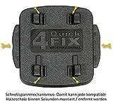 Wicked Chili Fahrradhalterung für Teasi one3 / one2 / one / Pro Pulse und SMAR.T Power (Sicherungsgummi ,QuickFix-System, Made in Germany) schwarz - 6