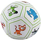 Curtis Toys Soft Ball With Animal Pictures (Multicolour, 987-1)