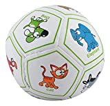 #4: Curtis Toys Soft Ball with Animal Pictures (Multicolour, 987-1)