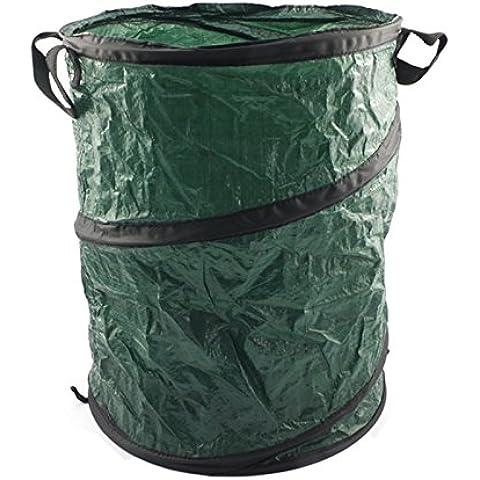 Pop Up-Borsa per raccolta fogliame da giardino, con manici, 30 l, confezione da 1