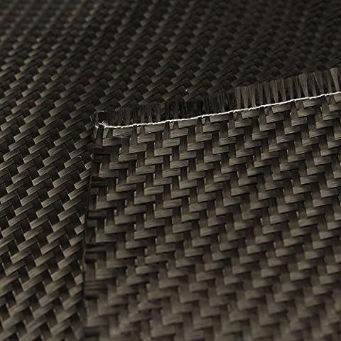 Mohoo In fibra di carbonio 3K 2/2 Twill tessuto 200g / m2 0.28mm spessore di 5 conteggi / panno tessuto cm Filato di carbonio per auto Parts Sport