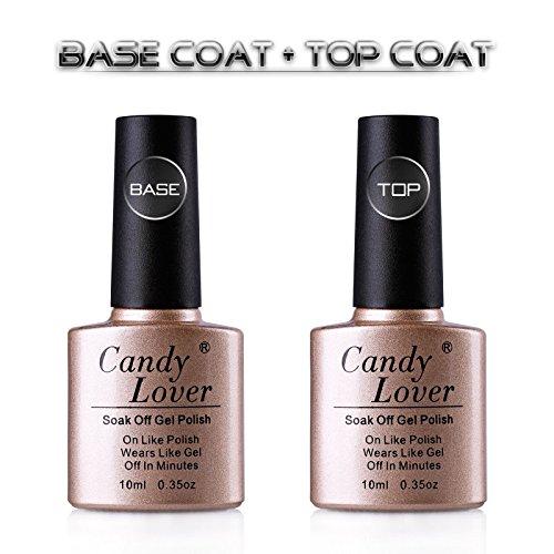 candy-lover-klar-basislack-und-versieglung-10ml-2-pcs-uv-led-base-coat-und-top-coat-gelnagellack-set