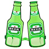 Creative Personality Beer Bottle Funny Glasses Sunglasses Party Party Dance Night Club Bar Photo Dress Up Props