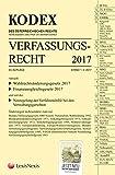 KODEX Verfassungsrecht 2017