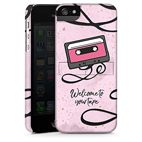 Apple iPhone X Silikon Hülle Case Schutzhülle 13 reasons reasons why Kassette Premium Case StandUp
