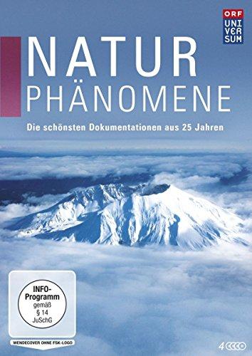 Naturphänomene - Die schönsten Dokumentationen aus 25 Jahren UNIVERSUM [4 DVDs]