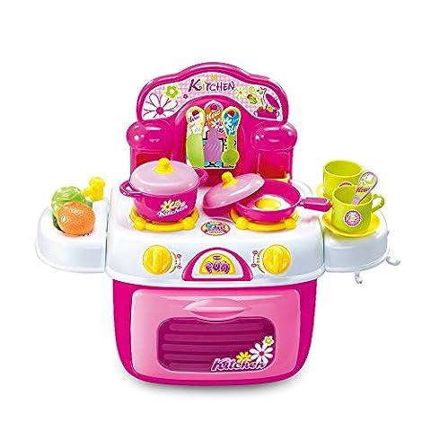 SainSmart Jr. Küchenspielzeug Kinderküche Set Backset Spielzeug für Jungen Mädchen ab 3 Jahre, (Küche Pretend Spielset)
