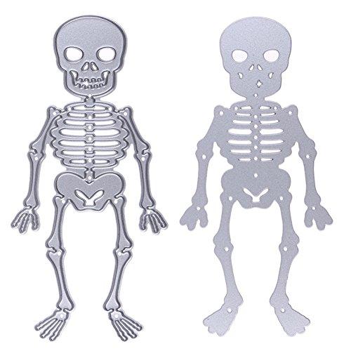 enipate Kreis Metall schneiden stirbt Schablonen DIY Scrapbooking Album dekorativer Prägung Ordner Anzug Papier Karten sterben Schneiden - Halloween Nail Art Jack