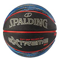 NBA Extreme SGT Sz7 Rber B-ball-Gray/Red
