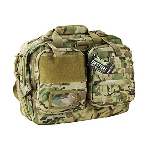 Combat Nav Bag Laptop Cover Btp Camo Cadet Airsoft Utility Pouch Army Style Molle (Bag Cadet)