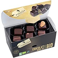 Assortiment de chocolats noir 72% Bio/Fairtrade Chevaliers d'Argouges 180g