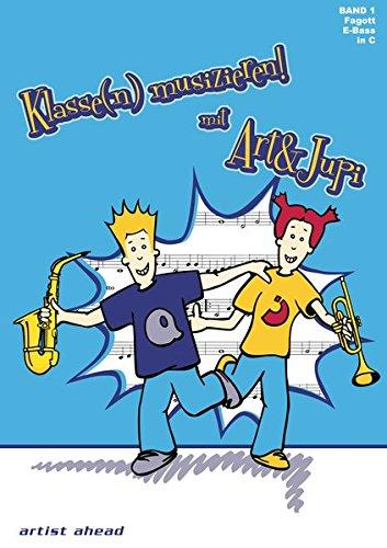 Klasse(n) musizieren mit Art & Jupi - Band 1: Tuba - Klavier-klassen