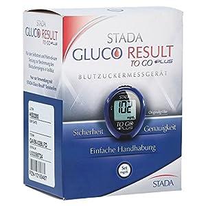 Stada Gluco Result to go plus Blutzuckermessgerät mg/dL, 1 S