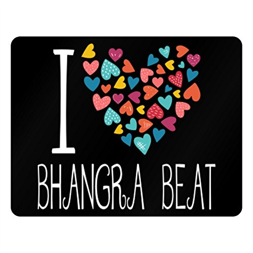 Idakoos I love Bhangra Beat colorful hearts - Musik - Plastic Acrylic -