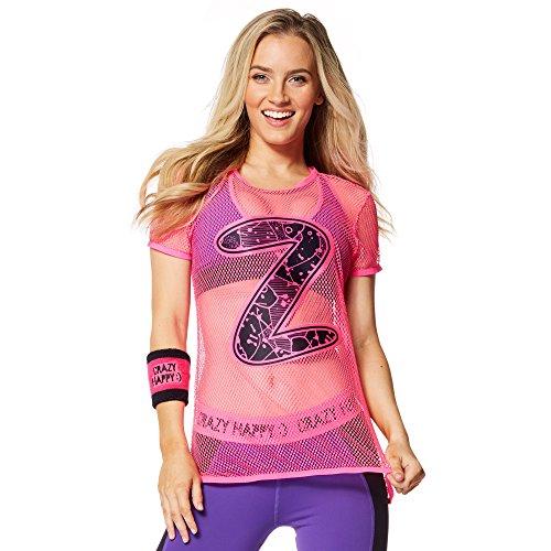 Zumba Fitness Damen WT Top Keep It Cool Tee Gumball, XS (Zumba-armband)