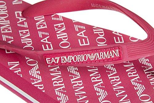 Emporio Armani EA7 infradito uomo in gomma originale sea world all aver blu Pink