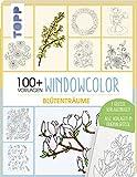 NEU Buch Vorlagenmappe Window Color - Blumen
