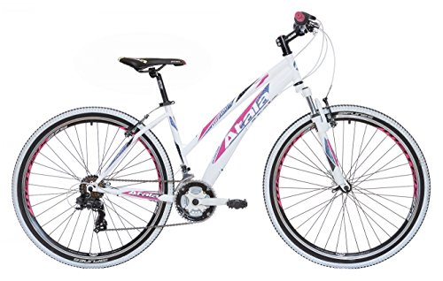 "Mountain Bike da donna 27,5"" Atala My Flower 21V bianco/nero/fuxia"