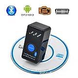 Eleganantstunning Mini OBD2 Eml327 V1.5 Bluetooth-Adapter Auto Diagnosegerät für Android/PC