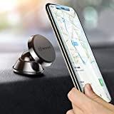 Handyhalterung Auto Magnet Smartphone Halterung KFZ Universal Handyhalter Auto für iPhone X XS Max 8 Plus 7 Plus Samsung Galaxy S9 S8 S7 Note Huawei Mate 20 Pro MP3 Player und Andere (Schwarz)