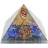 Humunize Lapis Stein mit Bleistift Orgon Pyramide Chakra-Energie-Generator Reiki Stein Fen Shui Geschenk preisvergleich bei billige-tabletten.eu