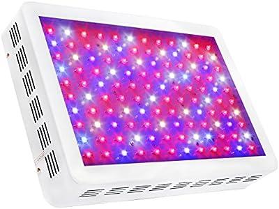 sygavled LED Grow luz-Interior de alto rendimiento-espectro completo plantas hidropónico verduras Bloom Panel lámpara