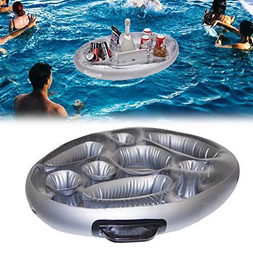 Elementral Pools Spa Bar Aufblasbare Whirlpool Tisch Für Getränke Und Snacks - Perfekt Für Pool Parties