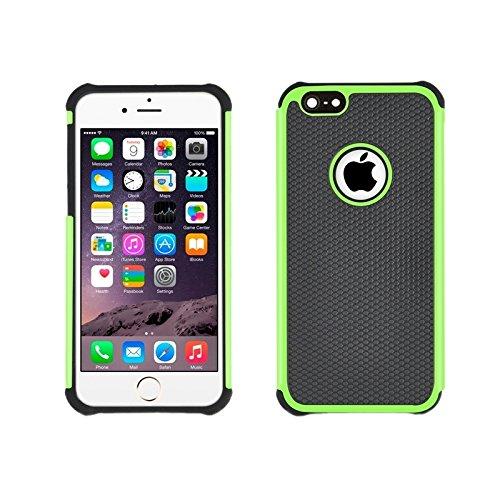 wkae Schutzhülle Case & Cover Fußball Textur Kunststoff Schutzhülle für iPhone 6Plus & 6splus grün