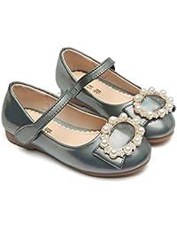 f38fbc7b5 Amazon.es  zapatos grises de fiesta - Bailarinas   Zapatos para niña ...